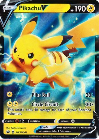 Pikachu V - SWSH063 - SWSH Black Star Promos