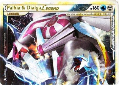 Palkia & Dialgia LEGEND (Top) - 101/102 - Rare Holo Legend