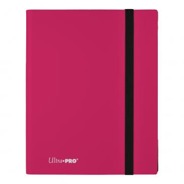 Ultra Pro - Eclipse 9-Pocket PRO-Binder (Holds 360 Cards Total) - Hot Pink