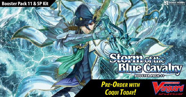 V Booster Set 11: Storm of the Blue Cavalry Booster Box