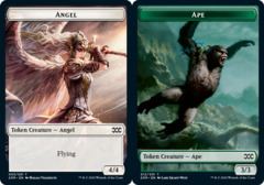 Angel Token // Ape Token - Foil