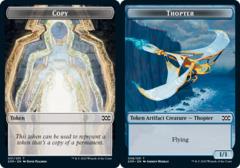 Copy Token // Thopter Token (008) - Foil