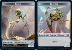 Servo Token // Thopter Token (026) - Foil