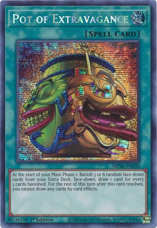 Abomination/'s Prison MP20 EN182 Ultra Rare 1st Edition Yugioh