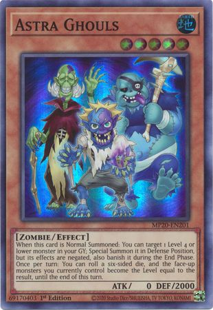 Astra Ghouls - MP20-EN201 - Super Rare - 1st Edition