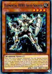 Elemental HERO Solid Soldier - TOCH-EN040 - Rare - Unlimited Edition
