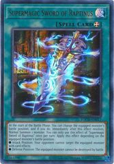 Supermagic Sword of Raptinus - TOCH-EN017 - Ultra Rare - Unlimited Edition
