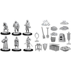 Pathfinder Battles Unpainted Minis - Castle II (Kingdom Retainers)