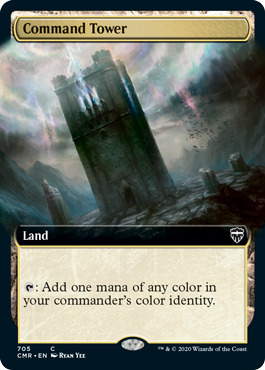 Command Tower - Extended Art