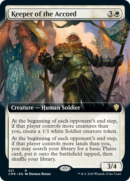 Keeper of the Accord - Foil - Extended Art