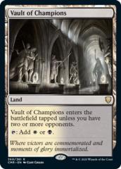 Vault of Champions - Foil