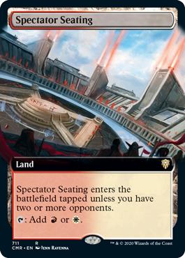 Spectator Seating - Extended Art