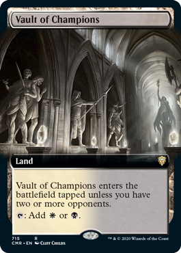 Vault of Champions - Extended Art