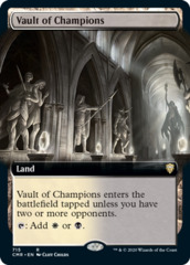 Vault of Champions - Foil - Extended Art