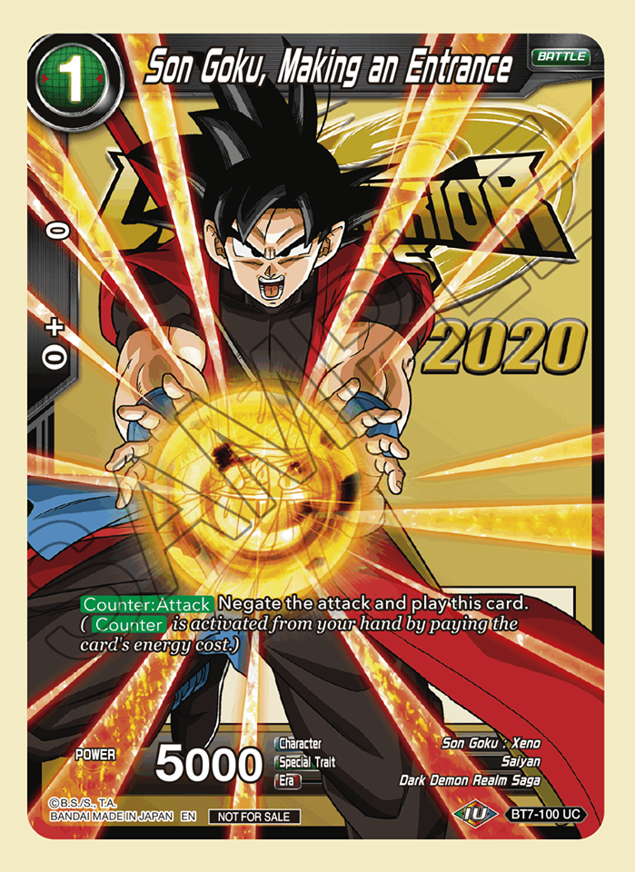 Son Goku, Making an Entrance (Event Pack 06) - BT7-100 - UC - Foil