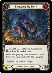 Barraging Big Horn (Red) - Rainbow Foil