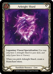 Arknight Shard - Cold Foil - 1st Edition