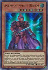 Legendary Knight Hermos - DLCS-EN003 - Ultra Rare - 1st Edition
