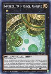Number 78: Number Archive - DLCS-EN122 - Common - 1st Edition