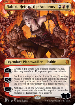 Nahiri, Heir of the Ancients - Foil - Borderless