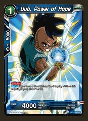 Uub, Power of Hope - BT11-040 - UC - Foil