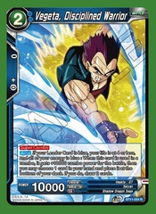 Vegeta, Disciplined Warrior - BT11-054 - R - Foil