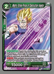 Mighty Strike Prince of Destruction Vegeta - BT11-068 - R