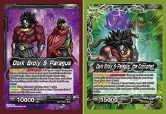 Dark Broly & Paragus // Dark Broly & Paragus, the Corrupted - BT11-122 - UC - Foil
