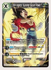 SS4 Vegeta, Supreme Saiyan Power - BT11-124 - SR