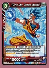 SSB Son Goku, Technique Unchained - BT11-006 - UC - Foil
