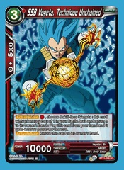 SSB Vegeta, Technique Unchained - UC - Foil