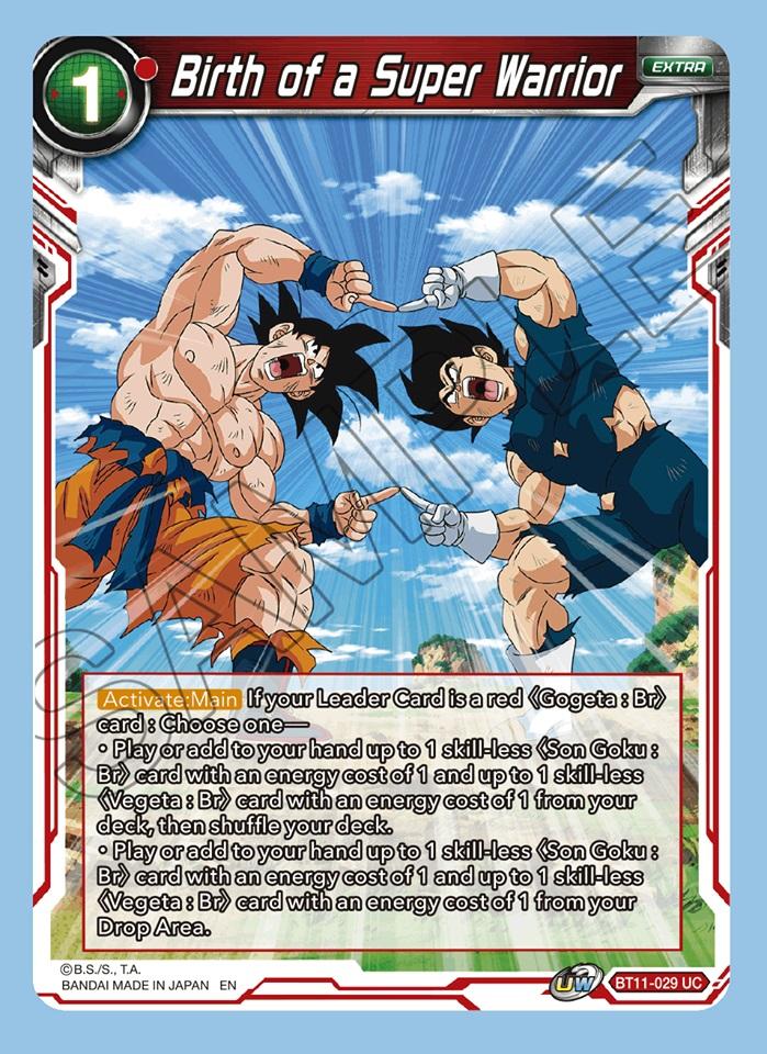 Birth of a Super Warrior - BT11-029 - UC