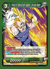Prince of Destruction Vegeta, Life and Death - BT11-067 - UC - Foil