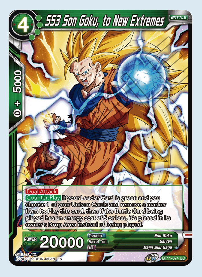 SS3 Son Goku, to New Extremes - BT11-074 - UC