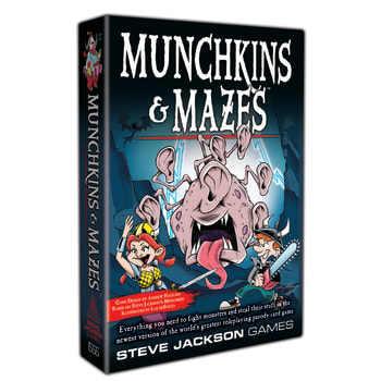 Munchkin: Munchkin & Mazes