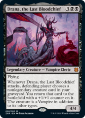 Drana, the Last Bloodchief - Foil