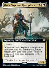 Orah, Skyclave Hierophant - Foil - Extended Art Buy-A-Box Promo