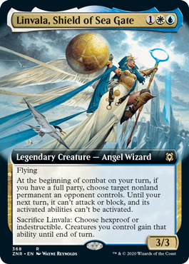 Linvala, Shield of Sea Gate - Extended Art