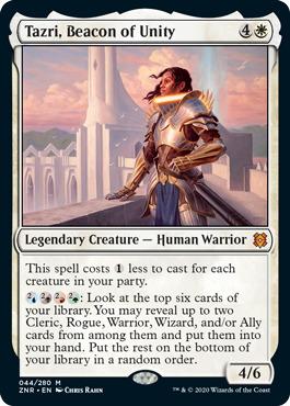 Tazri, Beacon of Unity - Foil