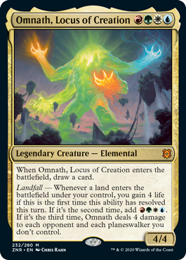Omnath, Locus of Creation - Foil