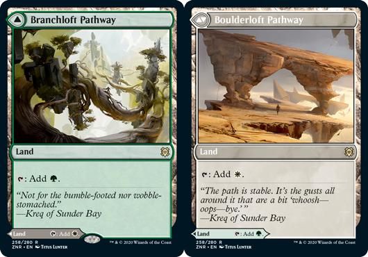 Branchloft Pathway // Boulderloft Pathway - Foil