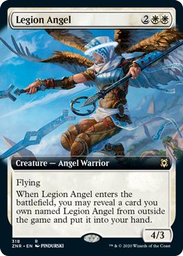 Legion Angel - Foil - Extended Art