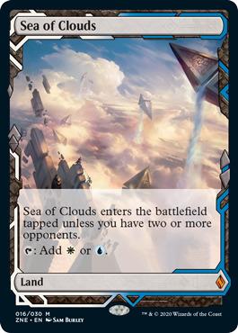 Sea of Clouds - Foil