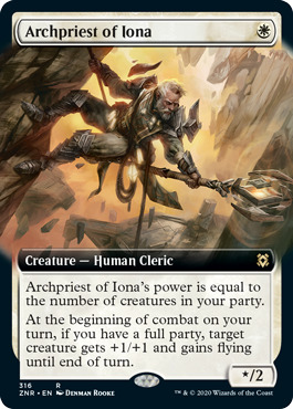 Archpriest of Iona - Extended Art