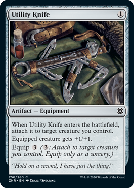 Utility Knife - Foil