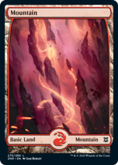 Mountain (275) - Full Art - Foil