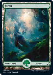 Forest (280) - Foil (Zendikar Rising)
