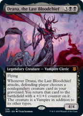 Drana, the Last Bloodchief - Foil - Extended Art