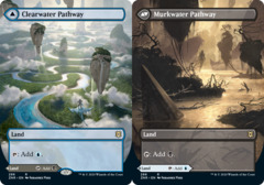 Clearwater Pathway // Murkwater Pathway (Borderless) - Foil