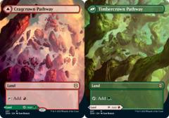 Cragcrown Pathway // Timbercrown Pathway - Foil - Borderless